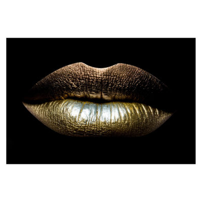 sexual-lips-gold-aluart-mondiart-wall-art