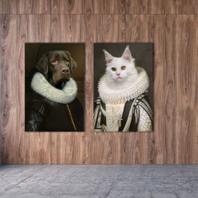 royal-labrador-cat-aluart-mondiart