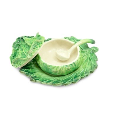 SAUCE-BOAT-CABBAGE-WITH-PLATE-abhika