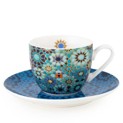 coffee-cups-saucer-moucharabieh-blue-images-orient