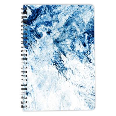 blue Art Fix notebook spiral artwow