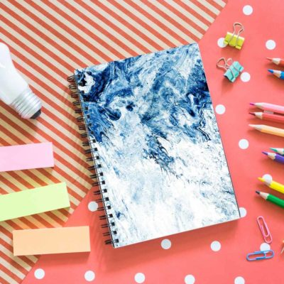 Art Fix notebook spiral Artwow