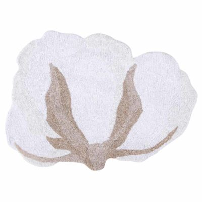 washable cotton rug, COTTON FLOWER, Lorena Canals