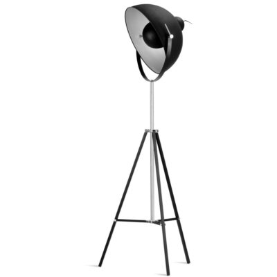 Black iron floor lamp, Hollywood, it's About RoMI