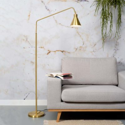 gold iron floor lamp, Lyon, it's about Romi