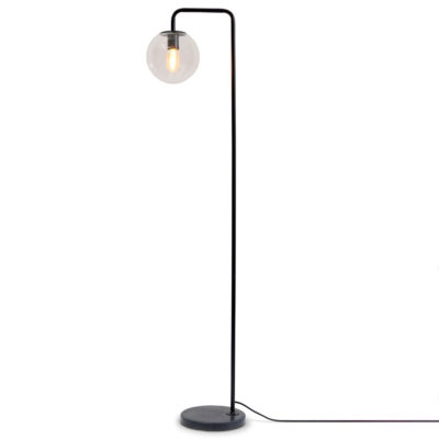 black iron floor lamp, Warsaw, it's about Romi