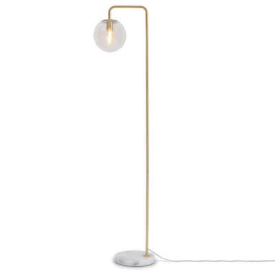 gold iron floor lamp, Warsaw, it's about Romi