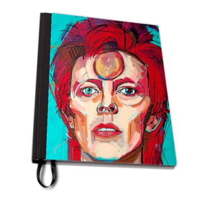 Instant star david bowie notebook fabric artwow