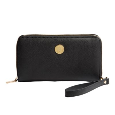 Purse with integrated power bank, KREAFUNK cPURSE black