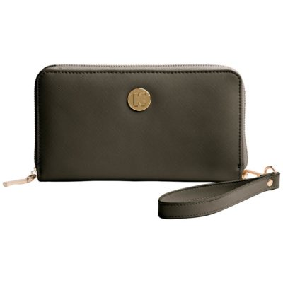 Purse with integrated power bank, KREAFUNK cPURSE olive