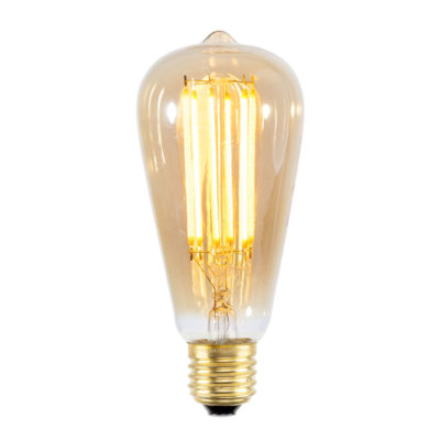 LED bulb filament E27 dimmable elongated