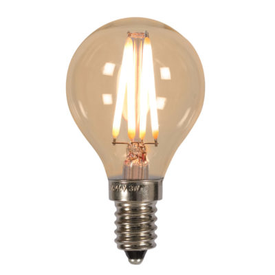 LED bulb globe filament dia.4,5cm It's About RoMI