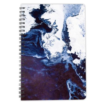Surface in Concept blue notebook spiral artwow