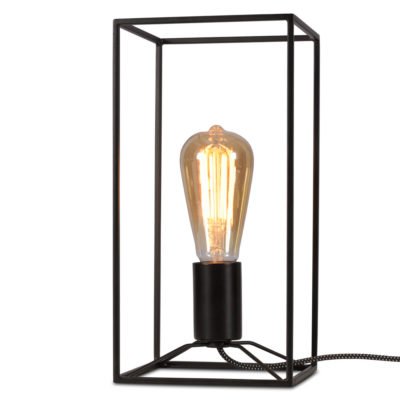 black iron Table lamp, Antwerp, it's about Romi
