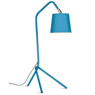 Blue iron table lamp, Barcelona, It's About RoMI