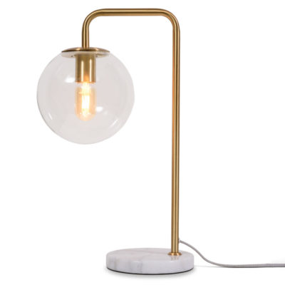 gold iron table lamp, Warsaw, it's about Romi
