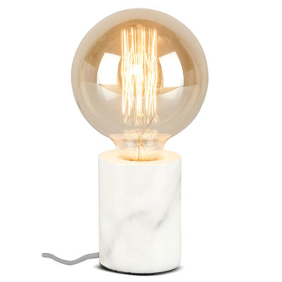 white marble table lamp, Athens, it's about Romi