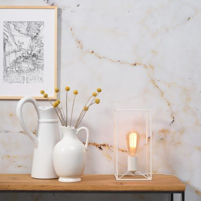 white iron table lamp, Antwerp, it's about Romi