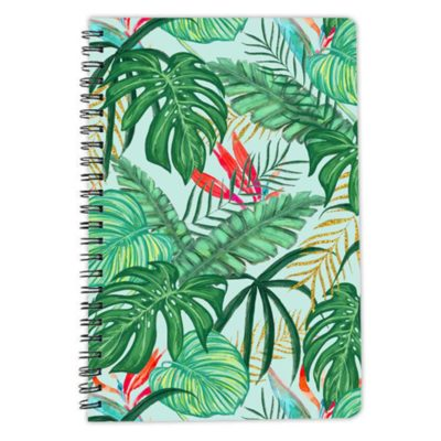 The Tropics leaves notebook spiral artwow