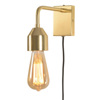 gold iron wall lamp, Madrid, it's about Romi