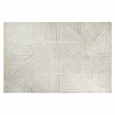 Washable wool rug, ALMOND, Lorena Canals