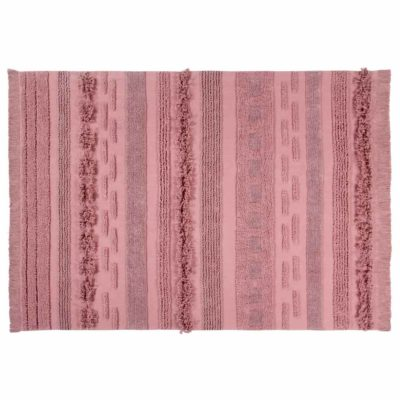 pink washable cotton rug, Air, Lorena Canals