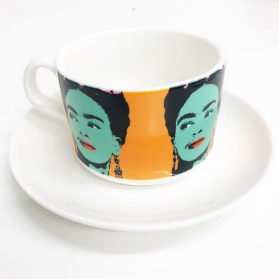 Cup and Saucer Frida Khalo