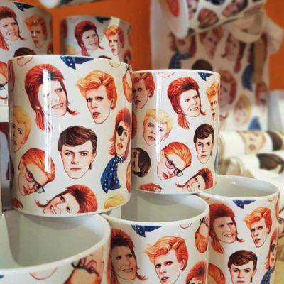 Mug Artwow Fabulous David Bowie
