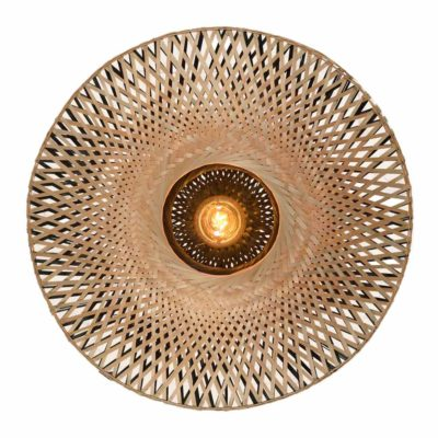 bamboo wall lamp, Kalimantan Good & Mojo