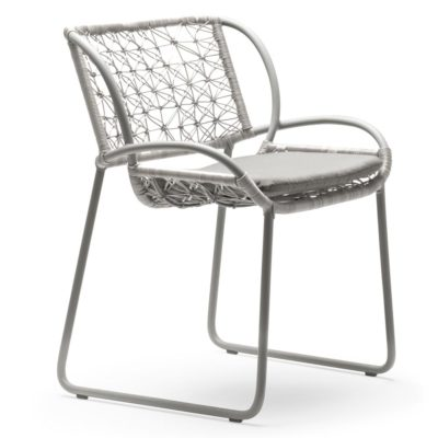 grey Armchair, Adesso by Kenneth Cobonpue