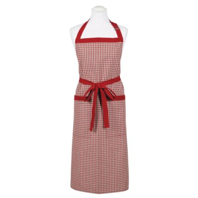 red check apron by Walton & Co