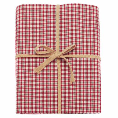 red check tablecloth 130x180cm by Walton & Co