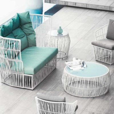 Outdoor Furniture, Calyx by kenneth cobonpue
