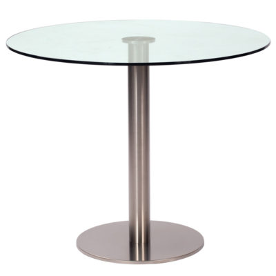 glass table 90cm, canteen by Pr Home
