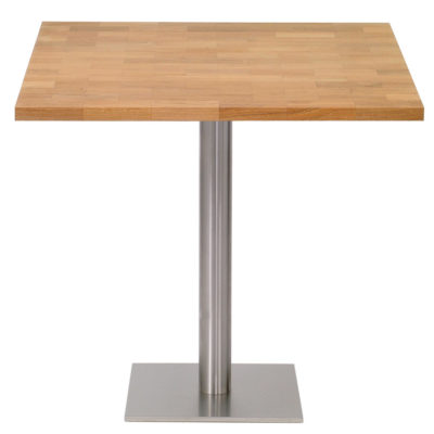 wooden Square table by Pr Home