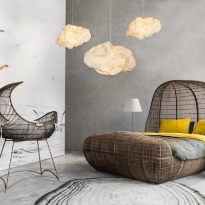 Cloud hanging lamp Kenneth Cobonpue