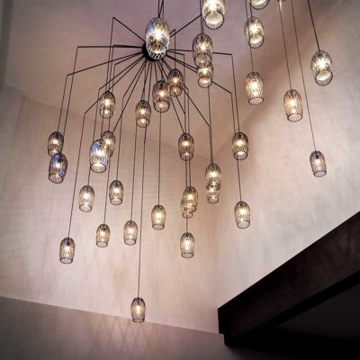 hanging lamp, constellation by Kenneth Cobonpue