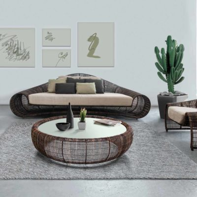 Design Outdoor furniture, Croissant by kenneth cobonpue