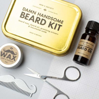 Damn Handsome Beard Kit in Tin Box, Atlantic Folk