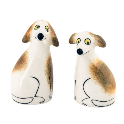 Dog Salt & Pepper by Hannah Turner