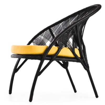 Black Easy Armchair, Hagia Kenneth Cobonpue