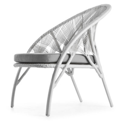 White Easy Armchair, Hagia by Kenneth Cobonpue