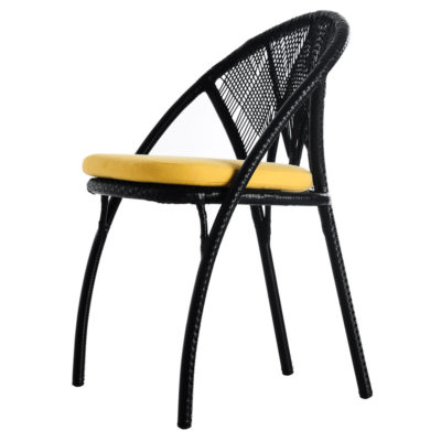 Black Side Chair, Hagia by Kenneth Cobonpue
