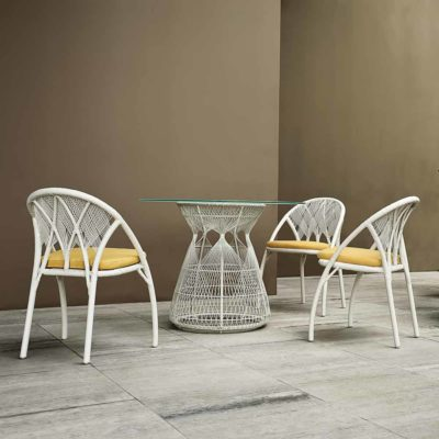 Outdoor furniture, Hagia by kenneth cobonpue