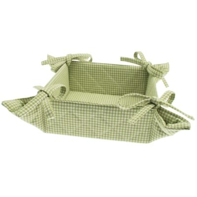 green bread basket by Walton & Co