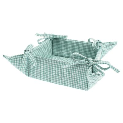 blue bread basket by Walton & Co