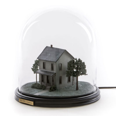 My Little Neighbour Glass Dome Table Lamp, Seletti