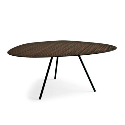 wooden design Coffee Table medium, Pebble by Kenneth Cobonpue