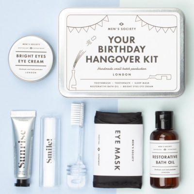Your Birthday Survival Kit in Tin Box, Atlantic Folk