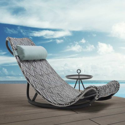 design outdoor Recliner, Zoey by Kenneth Cobonpue